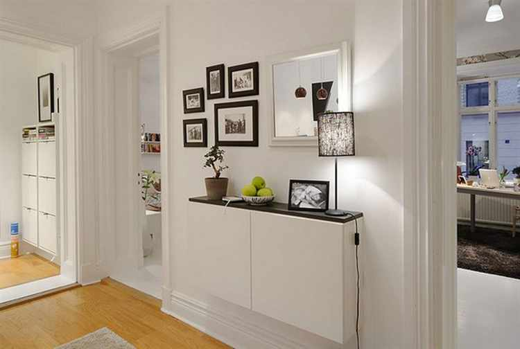 Como decorar espacios peque os for Muebles para la entrada de la casa