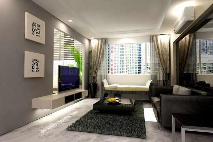 Ideas para decorar un salon comedor rectangular peque o - Salon comedor rectangular ...