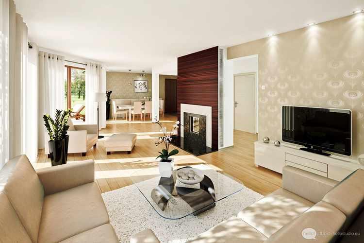 Ideas para decorar un salon comedor rectangular pequeño moderno