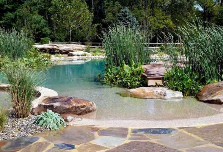 Piscinas naturales para jardin