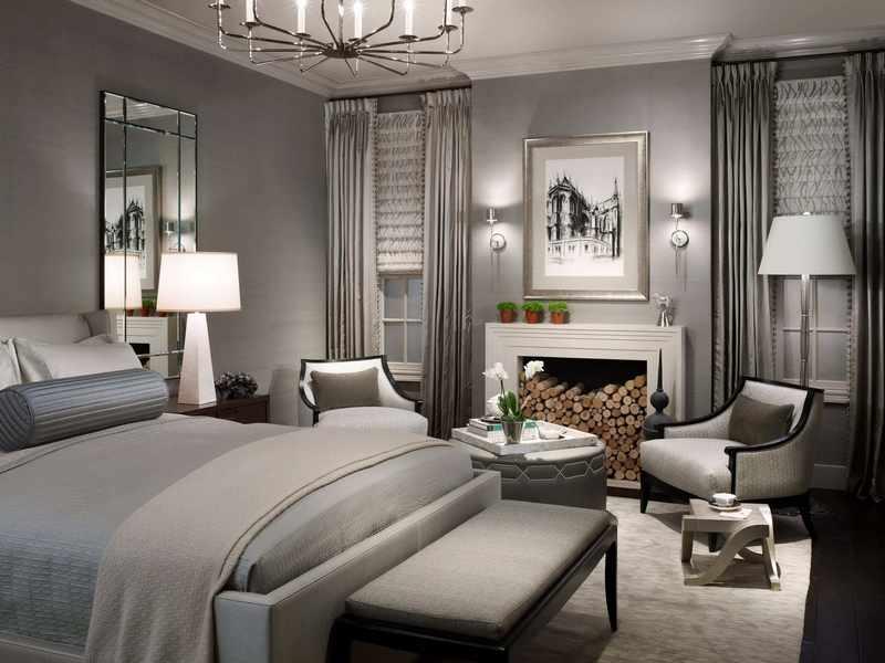 decoración de dormitorio matrimonio moderno