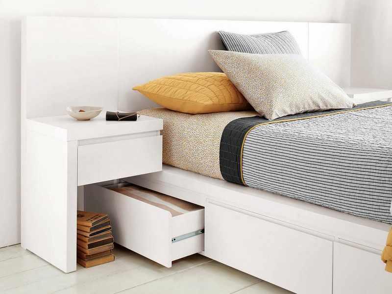 Decorar habitacion de matrimonio moderna mundodecoracion - Storage ideas for clothes in small bedroom ...