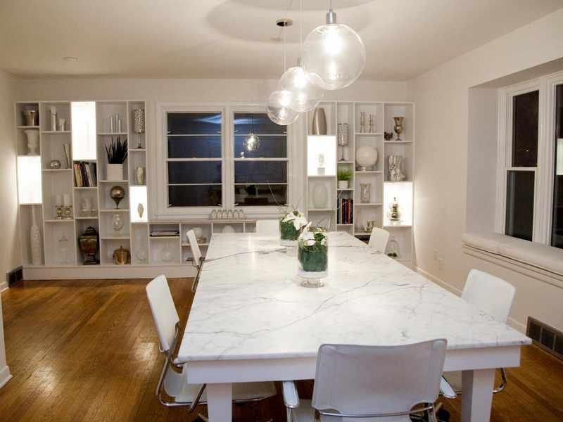 iluminacion salon comedor fotos