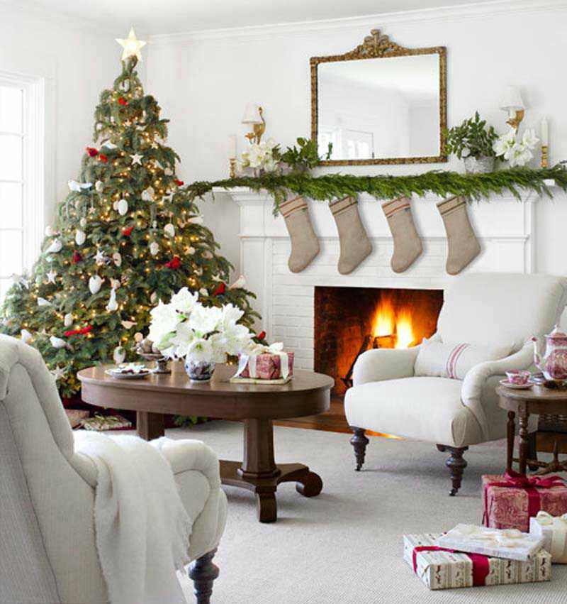 Decoracion de Navidad casera