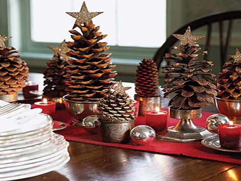 adornos de Navidad caseros faciles de hacer
