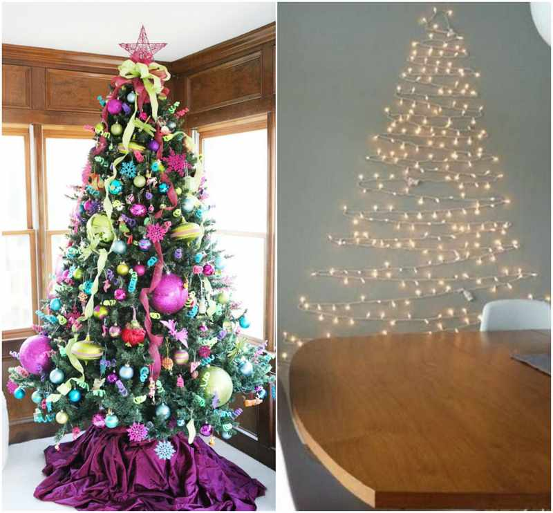 Decoracion para navidad original for Como hacer un arbol de navidad original