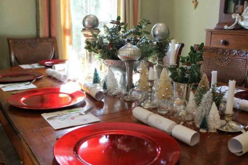 Decoracion de navidad para la mesa de nuestro salon for Como decorar la mesa para navidad