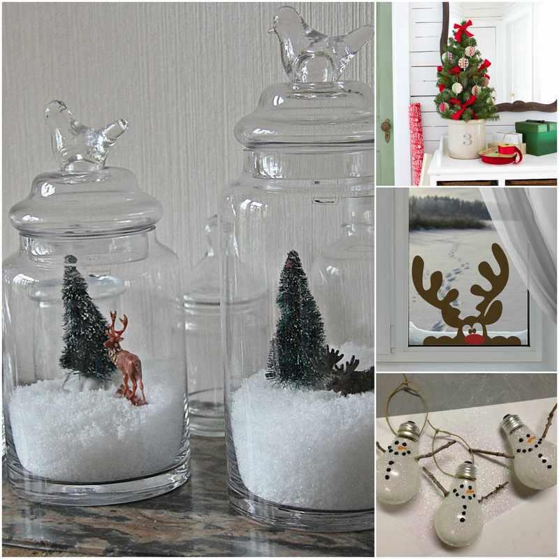 como hacer adornos de Navidad caseros