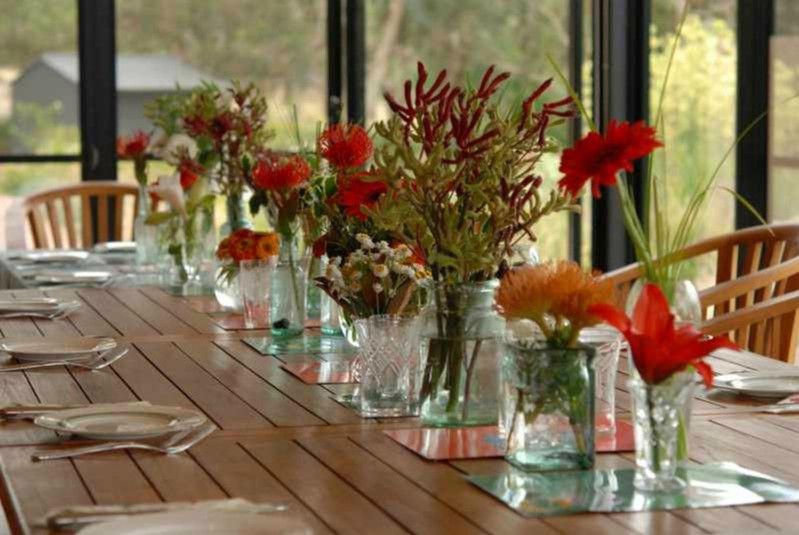 decoracion de mesas de Navidad baratas