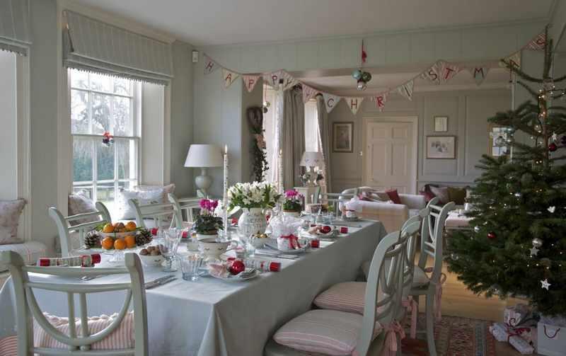decoracion de mesas navidad modernas