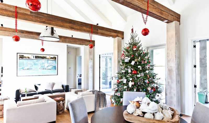 decoracion moderna de arbol de navidad