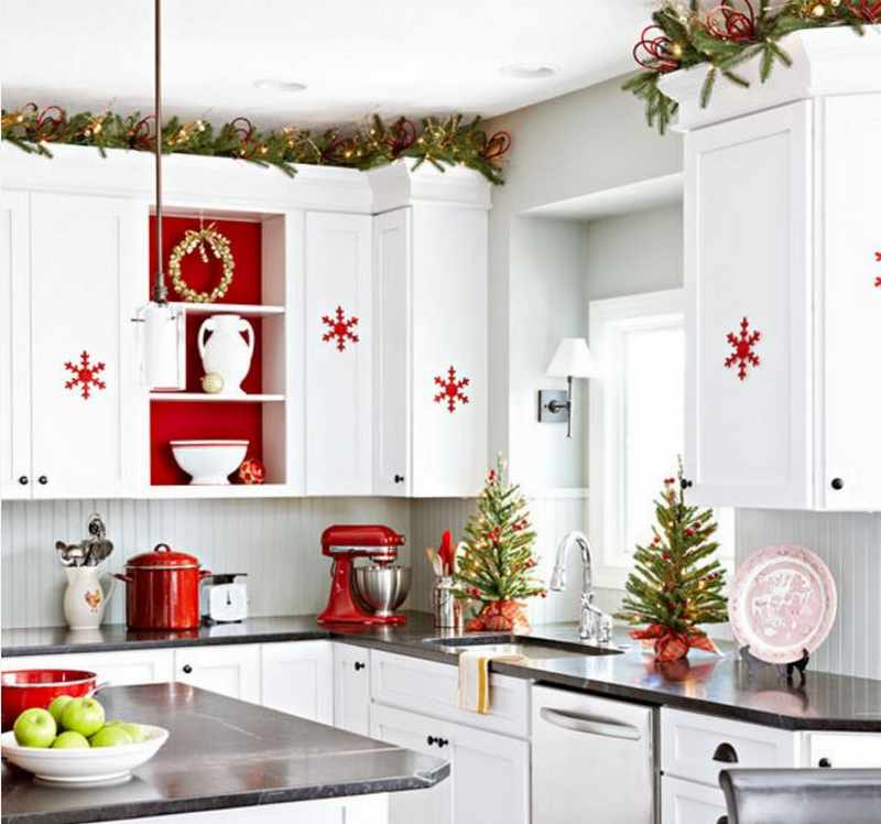 decoracion moderna de navidad