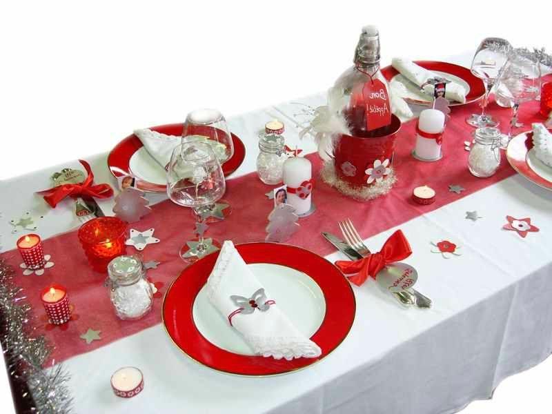 decorar mesa navidad para cena