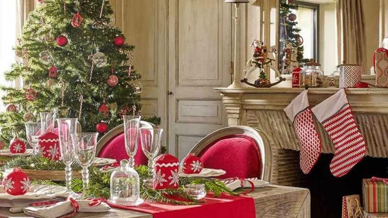 mesas adornadas para navidad fabulous video de cmo