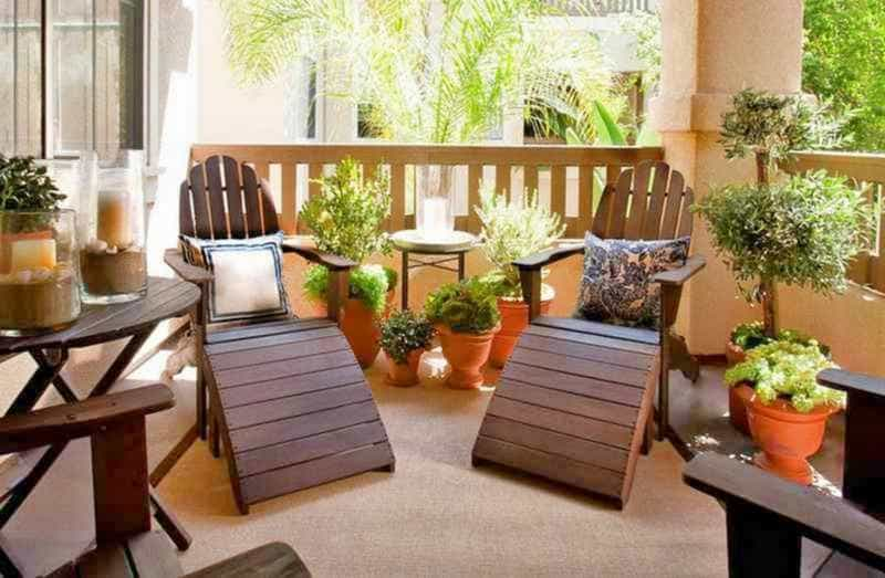 como decorar un patio de casa