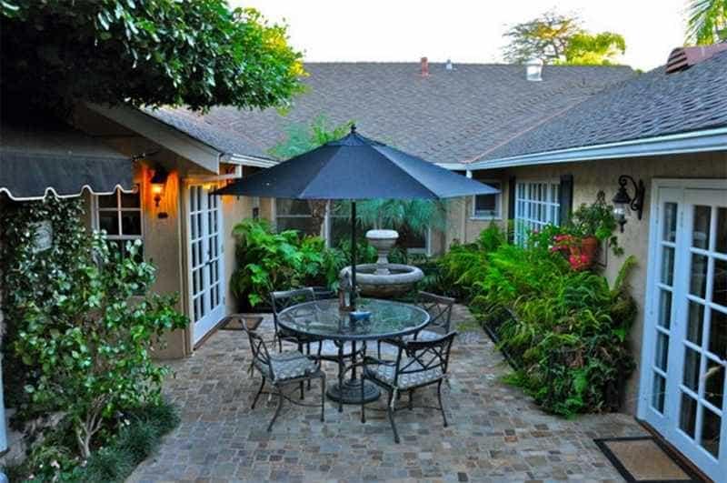 Como decorar un patio peque o for Como decorar un patio exterior
