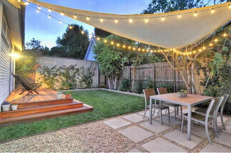 videos de como decorar un patio pequeño
