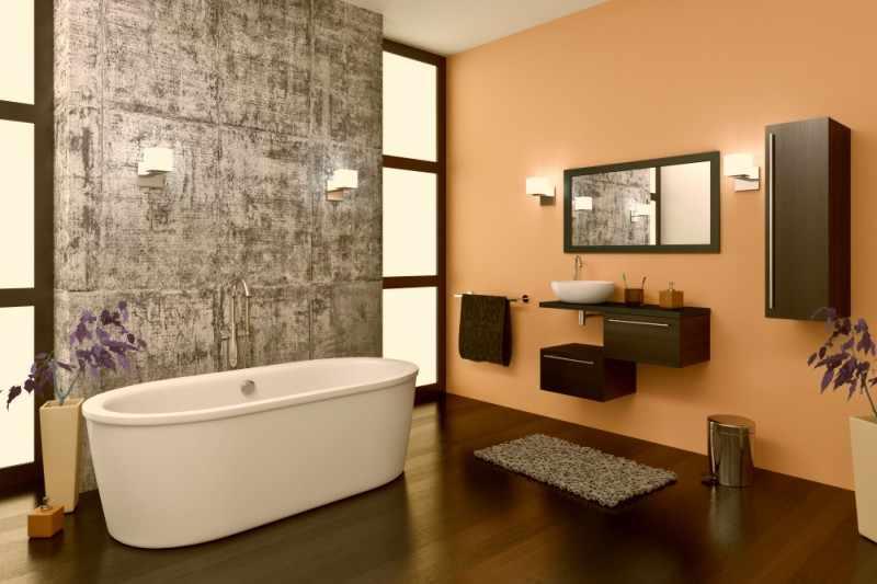 decoracion baños estilo industrial